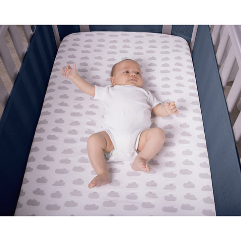 safebreathe breathable mesh cot bumper