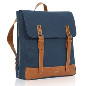 Navy Unisex Designer Backpack Widgey