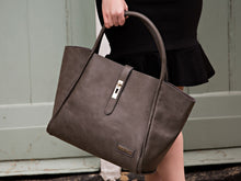 Load image into Gallery viewer, Beau Caris Designer Tote Style Changing Bag With Strap Lock