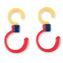 Load image into Gallery viewer, Stroll'r Swivel'rs Buggy Hooks 2-pack