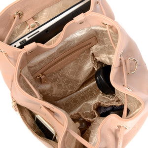 Laptop Pouch for KeriKit Leather Baby Changing Backpack - Nude