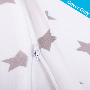 Widgey Plus Spare Cover Pillow Zip Pregnancy Sleep Sliver Star