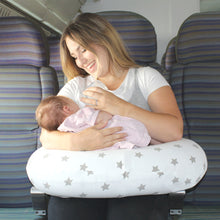 Load image into Gallery viewer, Widgey Travel Portable Inflatable Feeding Pillow Star Pattern