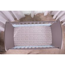 Load image into Gallery viewer, Top View of SafeDreams 2 Sided Hypoallergenic Breathable Cot Bumper