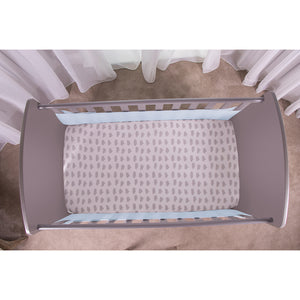Top View of SafeDreams 2 Sided Hypoallergenic Breathable Cot Bumper
