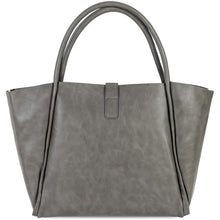 Load image into Gallery viewer, Leather Tote Bag Side View