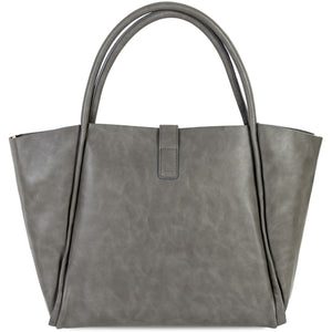 Leather Tote Bag Side View
