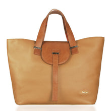 Load image into Gallery viewer, Beau Ellie Designer Leather Changing Bag