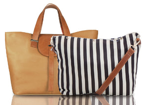 Beau Ellie Leather Bag and Changing Bag