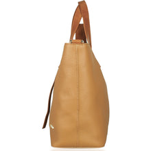 Load image into Gallery viewer, Side View of Beau Ellie Designer Leather Changing Bag