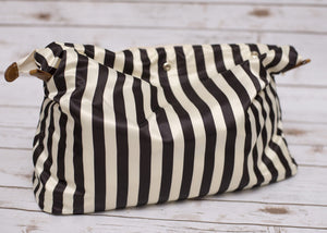 Removable Organiser Striped Bag