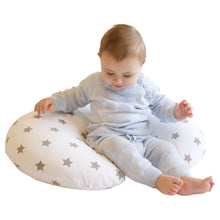 Load image into Gallery viewer, Baby Model Widgey 5-in-1 Feeding Pillow SIlver Star