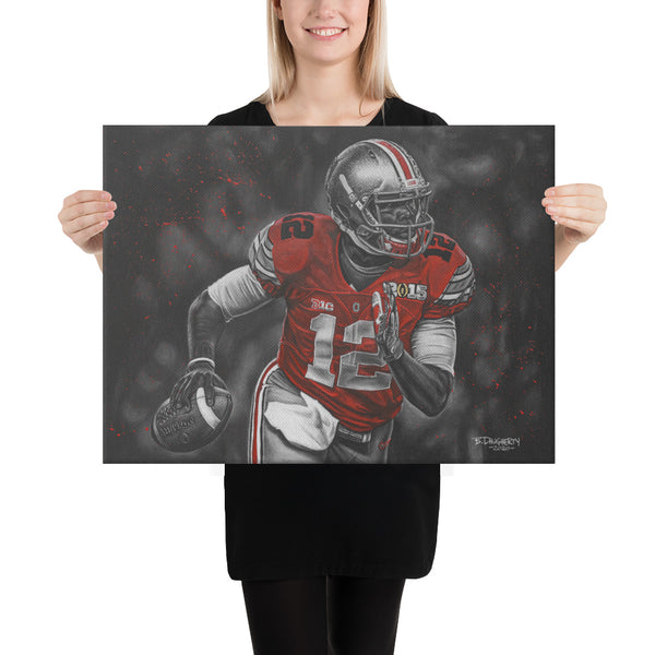 """12 Gauge"" Cardale Jones Fine Art Canvas Print"