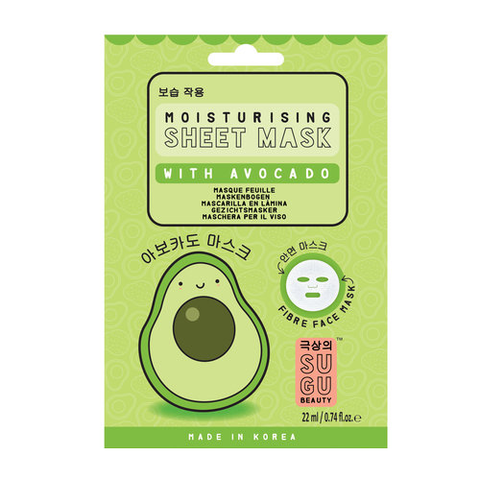 SUGU Moisturizing Sheet Mask With Avocado