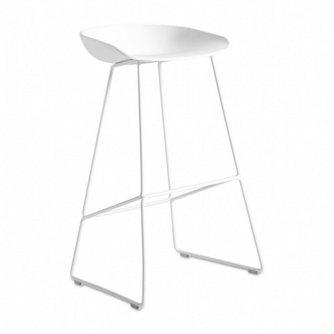 Bar Stools Dining Chairs with Sturdy Metal Base, Suitable for Kitchen and Dining Room. - EGGREE