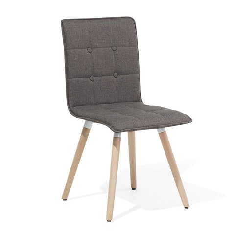 BROOKLYN Retro Sled Chair - Gray - EGGREE