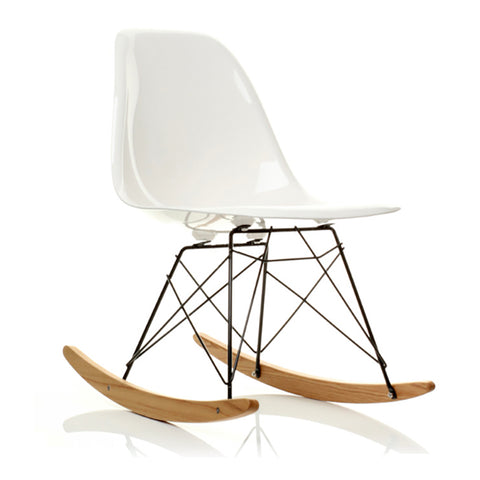 Mid-century Modern Eames Style Rocking Chair for Nursery, Kid's bedroom - EGGREE