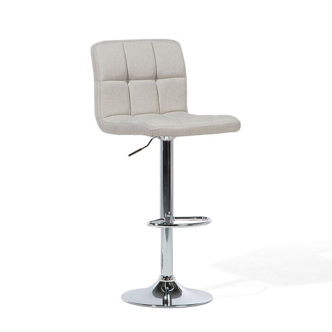 Adjustable Swivel Barstool - Light Grey - EGGREE
