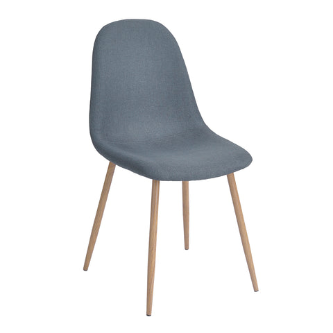 Eames Style Dining Chairs Mid Century Upholstered Accent Chair with Metal Legs For Dining Kitchen Living Room - EGGREE