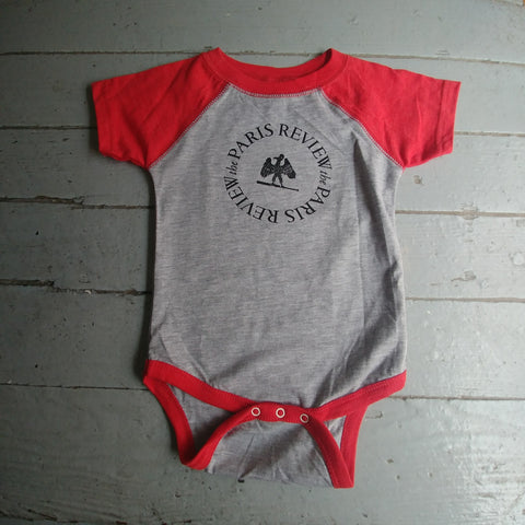 Paris Review Softball Jersey Onesie