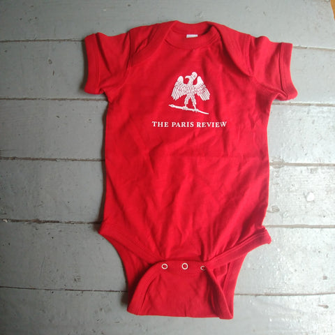 Red Paris Review Onesie