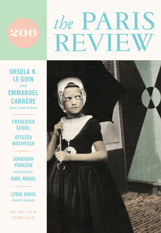 The Paris Review No. 206, Fall 2013