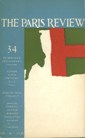 The Paris Review No. 34 Spring-Summer 1965