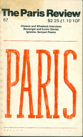The Paris Review No. 67 Fall 1976