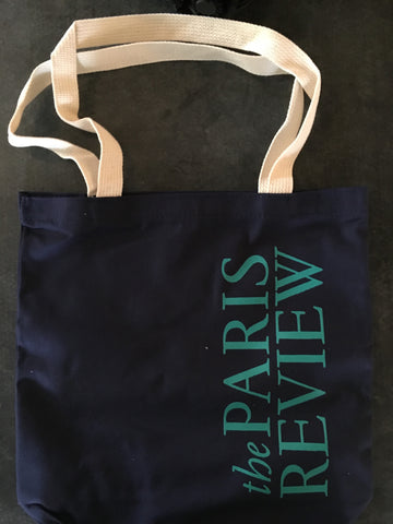 Blue Letter Tote Bag