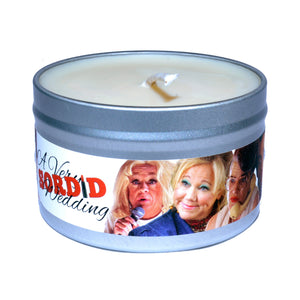 "25% Off A Complete Set of ""A Very Sordid Wedding"" Character Candles!"