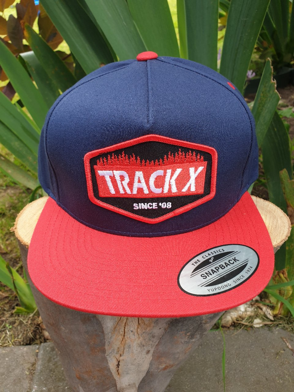Patch Cap - Navy Red