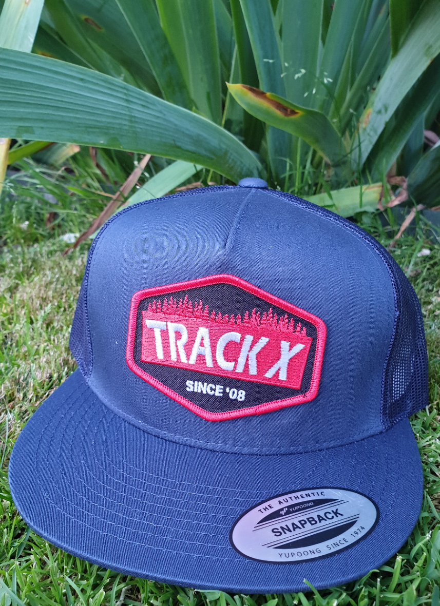 Patch Trucker Cap - Navy