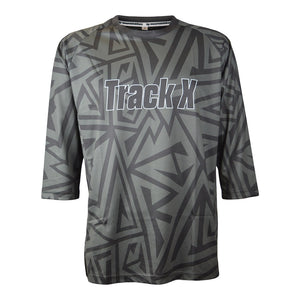 Jagged Jersey Men's - Black/Grey