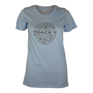 Circle Of Life Tee Women's - Ice Blue