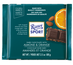 Ritter Sport Almond and Orange
