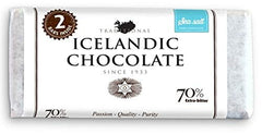 Icelandic Chocolate 70% Extra Bitter With Sea Salt