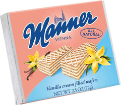 Manner Vanilla Wafers (small 100g)