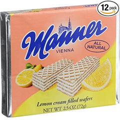 Manner Lemon Wafers (small 100g)
