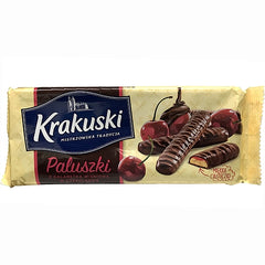 Krakuski Paluszki Chocolate Covered Biscuits
