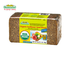 Organic Sunflower Seed Bread (Mestemacher)
