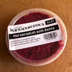 Horseradish Sauce with Beets