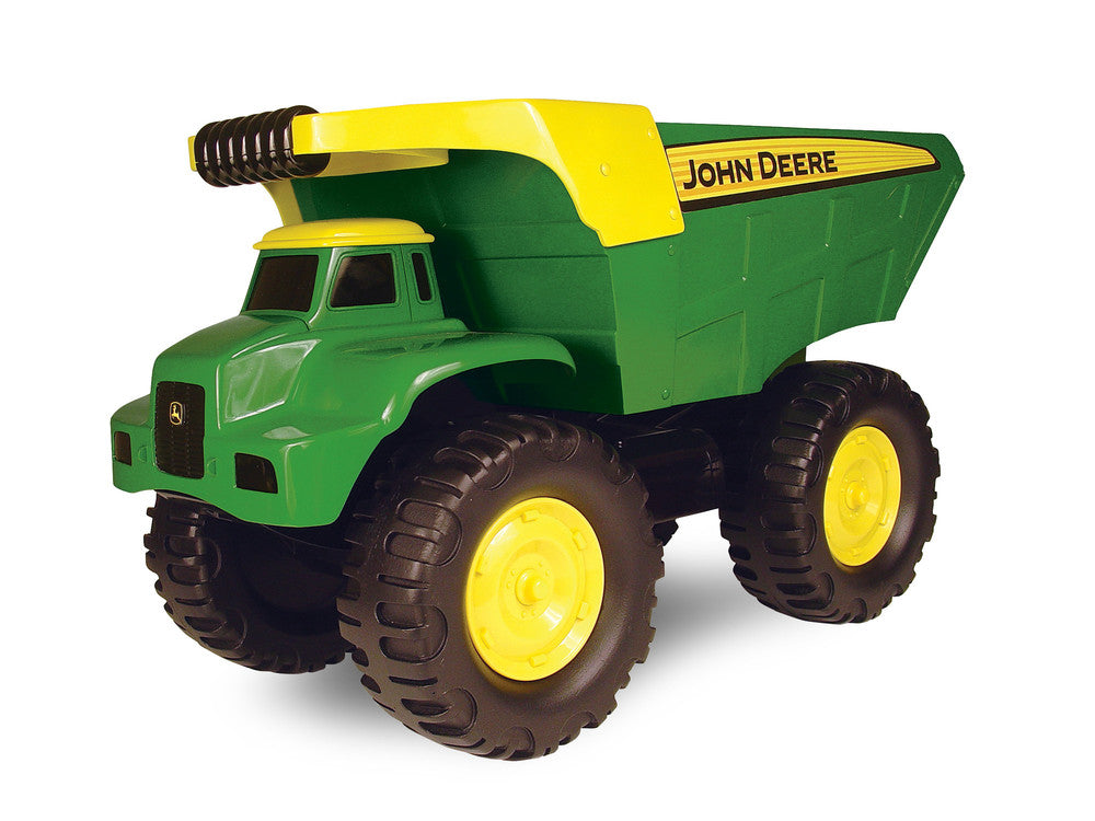 LARGE JOHN DEERE BIG SCOOP DUMP TRUCK