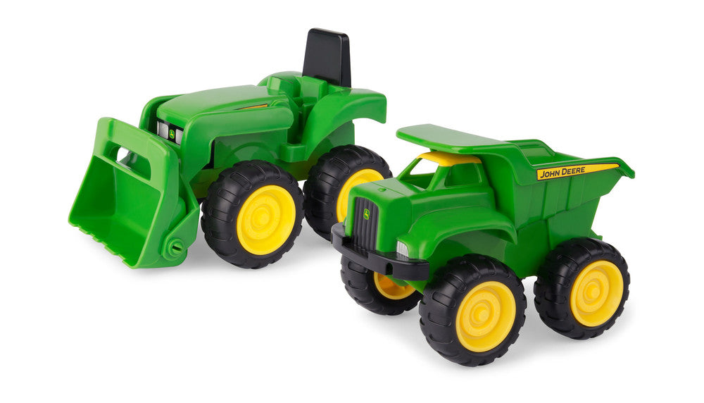 JOHN DEERE SANDBOX VEHICLE SET 2 PACK