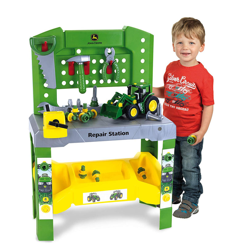 John Deere Buildable Repair Station & Tractor