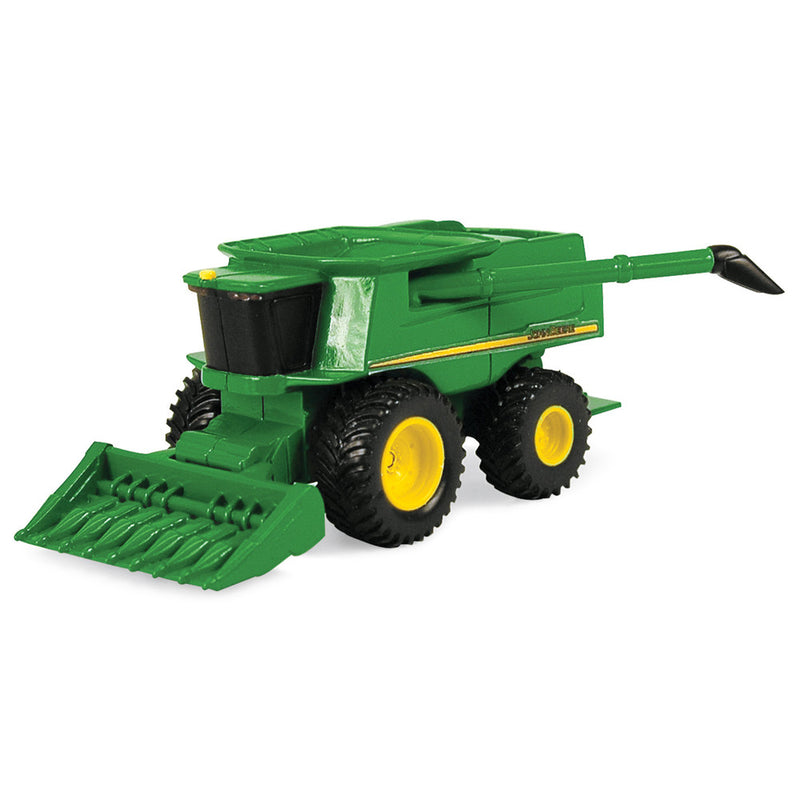 JOHN DEERE MINI COMBINE AND GRAIN HEAD