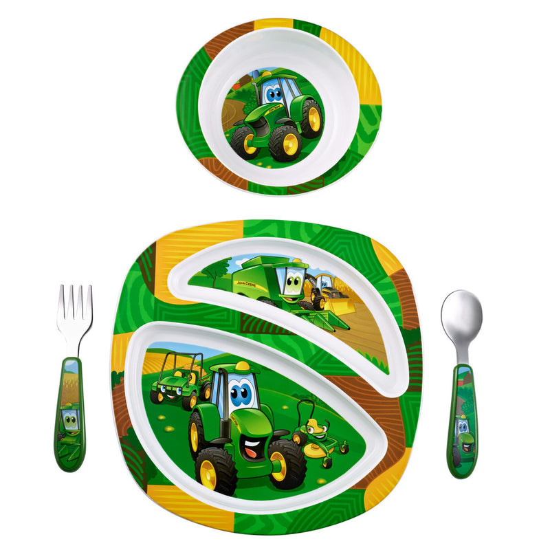 JOHN DEERE 4PC DISH SET