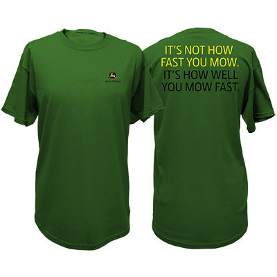 Mens JD Green Mow Tee