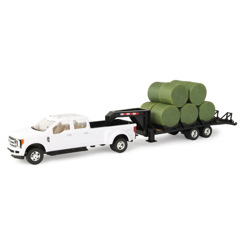 1/32 FORD PICKUP TRAILER & BALES