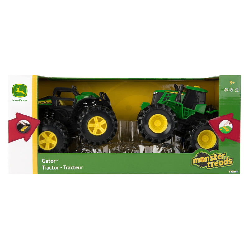 JOHN DEERE MONSTER TREADS LIGHTS & SOUNDS 2 PACK