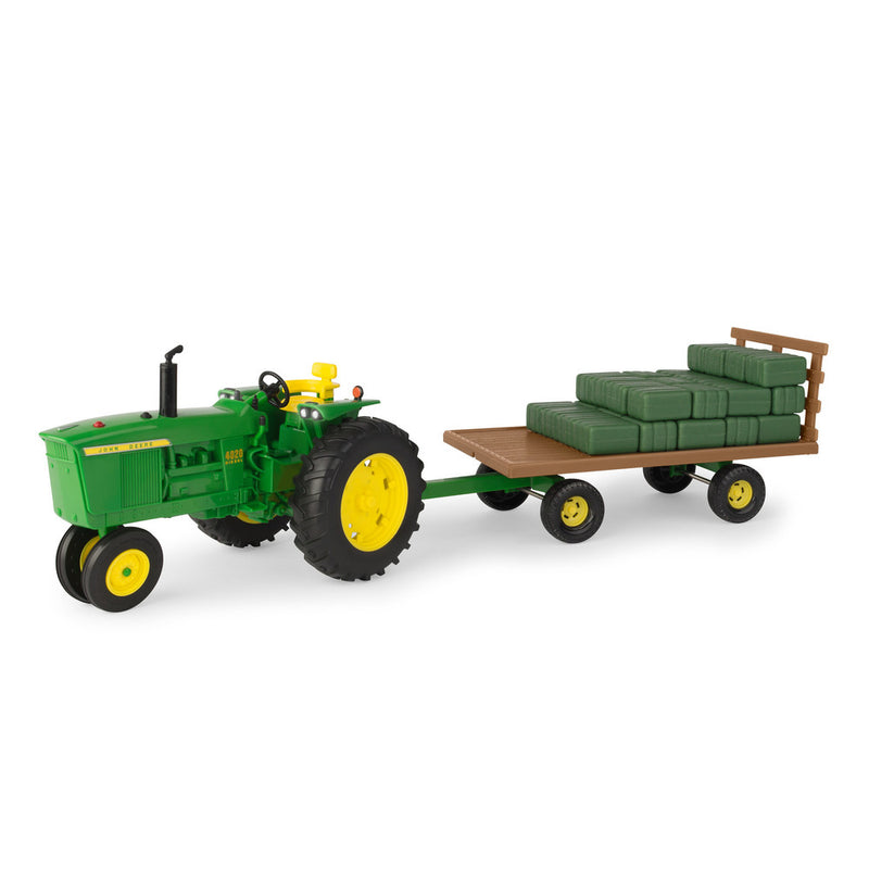 1/16 Big Farm JD 4020 With Hay Wagon
